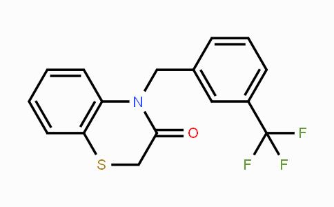 353262-04-1 | 4-(3-(trifluoromethyl)benzyl)-2H-benzo[b][1,4]thiazin-3(4H)-one