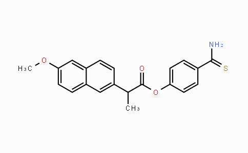 1226895-20-0   4-carbamothioylphenyl 2-(6-methoxynaphthalen-2-yl)propanoate