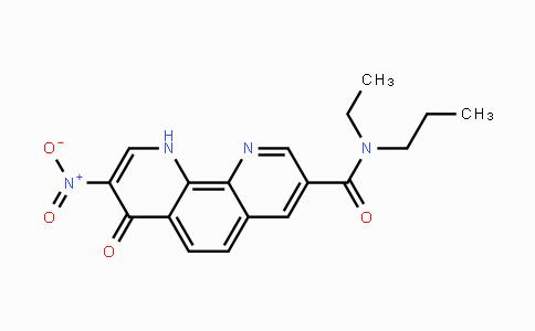 223666-07-7 | N-ethyl-8-nitro-7-oxo-N-propyl-7,10-dihydro-1,10-phenanthroline-3-carboxamide