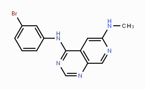 171179-06-9 | N4-(3-bromophenyl)-N6-methylpyrido[3,4-d]pyrimidine-4,6-diamine