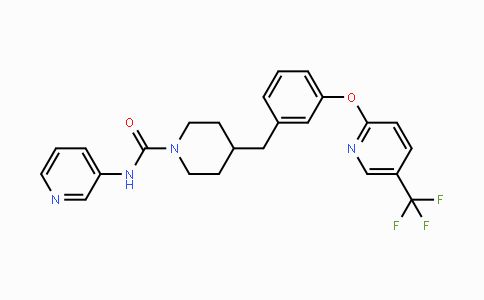 1196109-52-0 | N-(pyridin-3-yl)-4-(3-((5-(trifluoromethyl)pyridin-2-yl)oxy)benzyl)piperidine-1-carboxamide