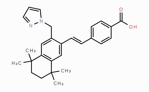 MC443083 | 410528-02-8 | 4-[(1E)-2-[5,6,7,8-四氢-5,5,8,8-四甲基-3-(1H-吡唑-1-基甲基)-2-萘基]乙烯基]苯甲酸