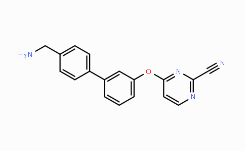 921625-62-9 | 4-((4'-(aminomethyl)-[1,1'-biphenyl]-3-yl)oxy)pyrimidine-2-carbonitrile