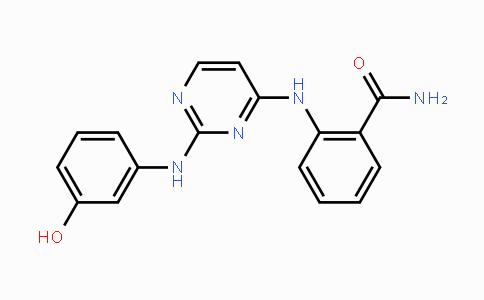 929007-72-7 | 2-((2-((3-hydroxyphenyl)amino)pyrimidin-4-yl)amino)benzamide