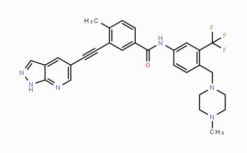 1257628-77-5 | 3-((1H-pyrazolo[3,4-b]pyridin-5-yl)ethynyl)-4-methyl-N-(4-((4-methylpiperazin-1-yl)methyl)-3-(trifluoromethyl)phenyl)benzamide