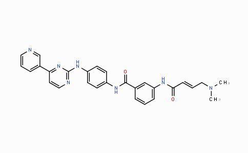1408064-71-0 | (E)-3-(4-(dimethylamino)but-2-enamido)-N-(4-((4-(pyridin-3-yl)pyrimidin-2-yl)amino)phenyl)benzamide