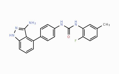 796967-16-3 | 1-(4-(3-amino-1H-indazol-4-yl)phenyl)-3-(2-fluoro-5-methylphenyl)urea