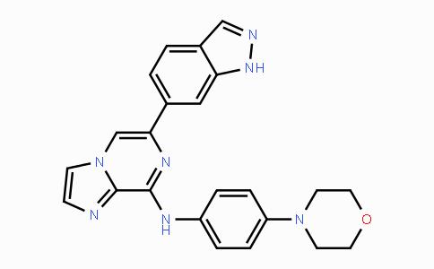 DY443093 | 1229208-44-9 | 6-(1H-indazol-6-yl)-N-(4-morpholinophenyl)imidazo[1,2-a]pyrazin-8-amine