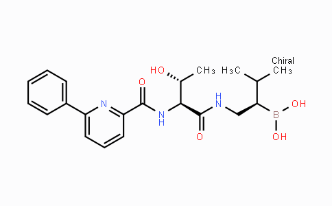 847499-27-8 | ((R)-1-((2S,3R)-3-hydroxy-2-(6-phenylpicolinamido)butanamido)-3-methylbutan-2-yl)boronic acid