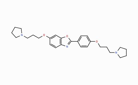 DY443097 | 1219925-73-1 | 6-(3-(pyrrolidin-1-yl)propoxy)-2-(4-(3-(pyrrolidin-1-yl)propoxy)phenyl)benzo[d]oxazole