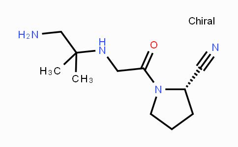 DY443106 | 739364-93-3 | (S)-1-(2-((1-amino-2-methylpropan-2-yl)amino)acetyl)pyrrolidine-2-carbonitrile
