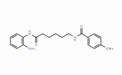 1215493-56-3 | N-(6-((2-aminophenyl)amino)-6-oxohexyl)-4-methylbenzamide