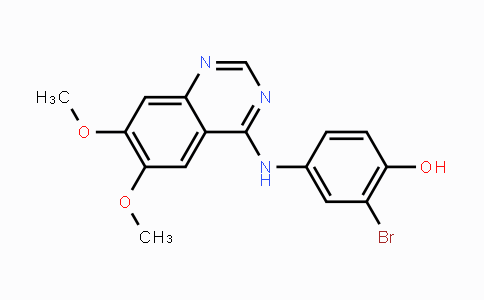 211555-04-3   2-bromo-4-((6,7-dimethoxyquinazolin-4-yl)amino)phenol