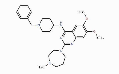 935693-62-2 | N-(1-benzylpiperidin-4-yl)-6,7-dimethoxy-2-(4-methyl-1,4-diazepan-1-yl)quinazolin-4-amine
