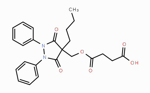 27470-51-5 | 4-((4-butyl-3,5-dioxo-1,2-diphenylpyrazolidin-4-yl)methoxy)-4-oxobutanoic acid