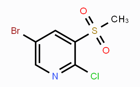 887308-14-7 | 5-bromo-2-chloro-3-(methylsulfonyl)pyridine