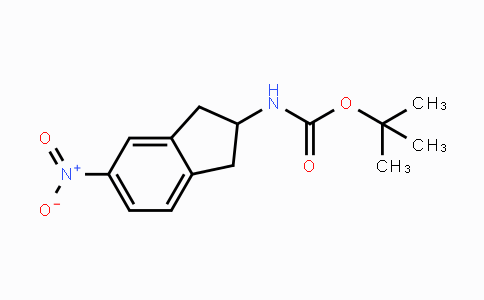 73536-84-2 | tert-butyl 5-nitro-2,3-dihydro-1H-inden-2-ylcarbamate