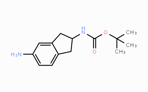 246873-45-0 | tert-butyl 5-amino-2,3-dihydro-1H-inden-2-ylcarbamate