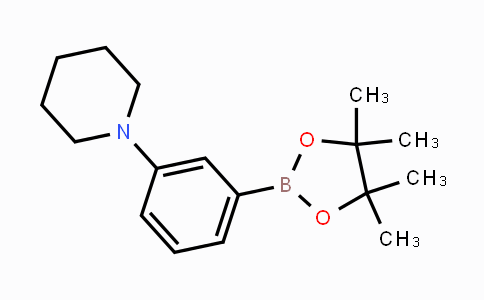 852227-97-5 | 1-(3-(4,4,5,5-tetramethyl-1,3,2-dioxaborolan-2-yl)phenyl)piperidine