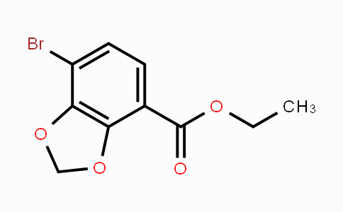 1312610-07-3 | ethyl 7-bromobenzo[d][1,3]dioxole-4-carboxylate