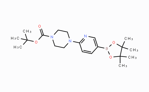 496786-98-2 | tert-butyl 4-(5-(4,4,5,5-tetramethyl-1,3,2-dioxaborolan-2-yl)pyridin-2-yl)piperazine-1-carboxylate
