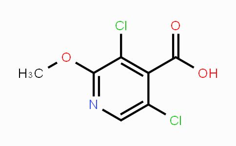 1147979-40-5 | 3,5-dichloro-2-methoxyisonicotinic acid