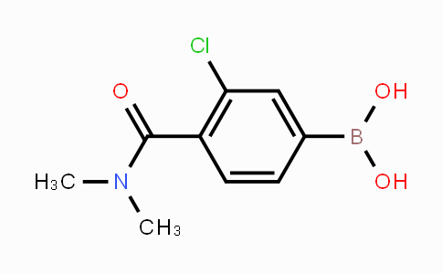 850589-47-8 | 3-chloro-4-(dimethylcarbamoyl)phenylboronic acid