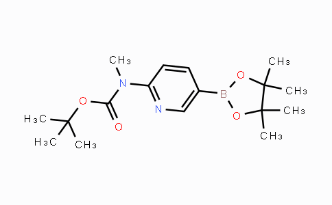 1032758-87-4 | tert-butyl methyl(5-(4,4,5,5-tetramethyl-1,3,2-dioxaborolan-2-yl)pyridin-2-yl)carbamate