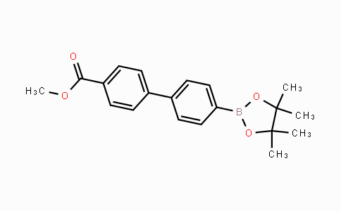 MC443253 | 1381957-27-2 | methyl 4'-(4,4,5,5-tetramethyl-1,3,2-dioxaborolan-2-yl)biphenyl-4-carboxylate
