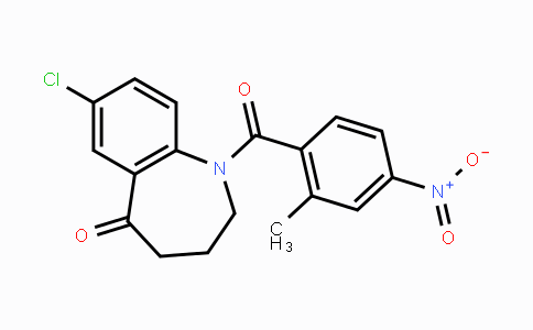 137982-91-3 | 7-chloro-1-(2-methyl-4-nitrobenzoyl)-3,4-dihydro-1H-benzo[b]azepin-5(2H)-one