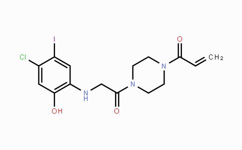 1469337-95-8 | 1-(4-(2-(4-chloro-2-hydroxy-5-iodophenylamino)acetyl)piperazin-1-yl)prop-2-en-1-one