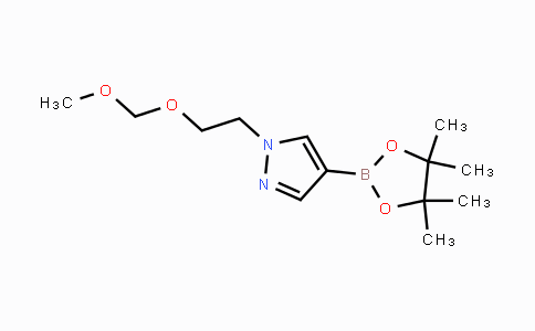 1013101-73-9 | 1-(2-(methoxymethoxy)ethyl)-4-(4,4,5,5-tetramethyl-1,3,2-dioxaborolan-2-yl)-1H-pyrazole