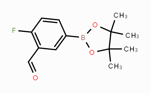 443776-94-1 | 2-fluoro-5-(4,4,5,5-tetramethyl-1,3,2-dioxaborolan-2-yl)benzaldehyde