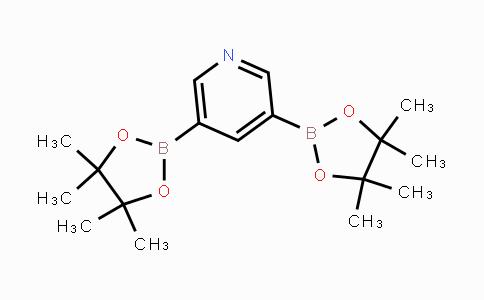 1012085-50-5 | 3,5-bis(4,4,5,5-tetramethyl-1,3,2-dioxaborolan-2-yl)pyridine
