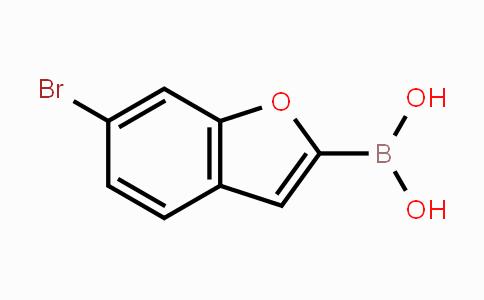 1202245-53-1 | 6-bromobenzofuran-2-ylboronic acid