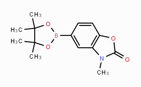 1220696-32-1 | 3-methyl-5-(4,4,5,5-tetramethyl-1,3,2-dioxaborolan-2-yl)benzo[d]oxazol-2(3H)-one