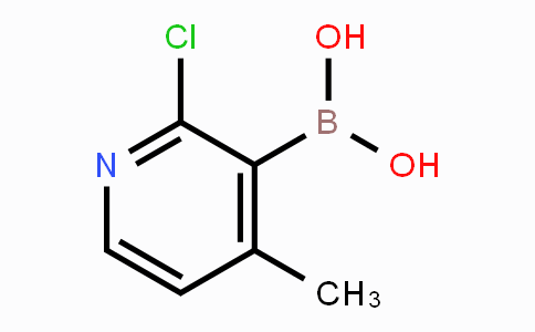 1029654-29-2 | 2-chloro-4-methylpyridin-3-ylboronic acid