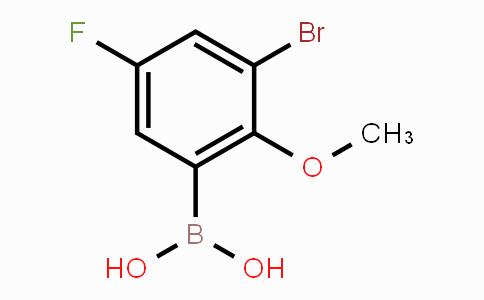 352525-85-0 | 3-bromo-5-fluoro-2-methoxyphenylboronic acid