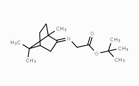 149250-52-2   (E)-tert-butyl 2-(1,7,7-trimethylbicyclo[2.2.1]heptan-2-ylideneamino)acetate