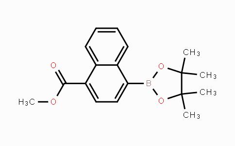 643094-08-0 | methyl 4-(4,4,5,5-tetramethyl-1,3,2-dioxaborolan-2-yl)-1-naphthoate