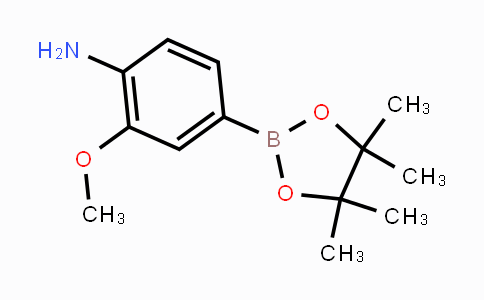461699-81-0 | 2-methoxy-4-(4,4,5,5-tetramethyl-1,3,2-dioxaborolan-2-yl)aniline
