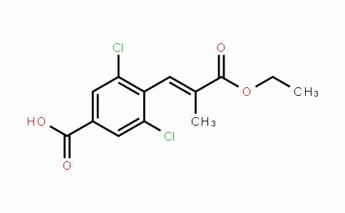 1110767-89-9 | (E)-3,5-dichloro-4-(3-ethoxy-2-methyl-3-oxoprop-1-enyl)benzoic acid