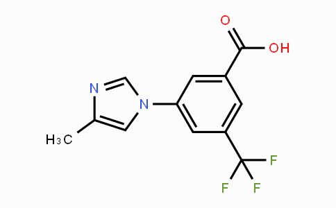 641571-13-3 | 3-(4-methyl-1H-imidazol-1-yl)-5-(trifluoromethyl)benzoic acid