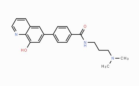 DY443481 | 1222800-79-4 | N-(3-(dimethylamino)propyl)-4-(8-hydroxyquinolin-6-yl)benzamide