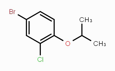 201849-21-0 | 4-bromo-2-chloro-1-isopropoxybenzene