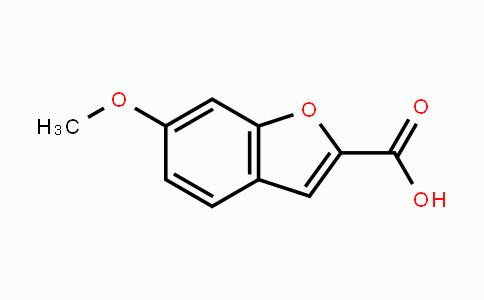50551-61-6 | 6-methoxybenzofuran-2-carboxylic acid