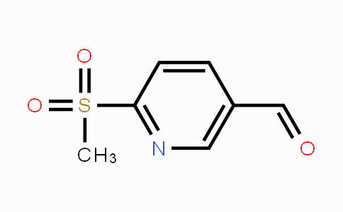 1221792-08-0 | 6-(methylsulfonyl)nicotinaldehyde