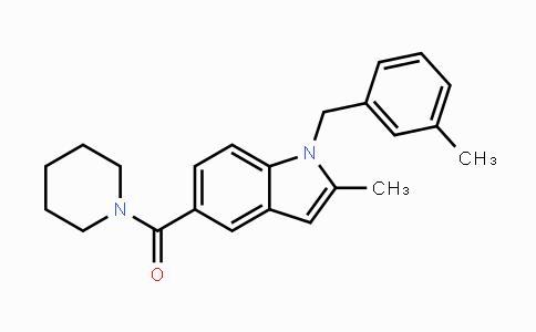 1234208-67-3 | (2-methyl-1-(3-methylbenzyl)-1H-indol-5-yl)(piperidin-1-yl)methanone