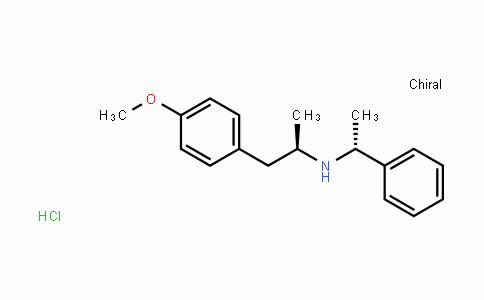 50505-66-3 | (R)-1-(4-methoxyphenyl)-N-((R)-1-phenylethyl)propan-2-amine hydrochloride