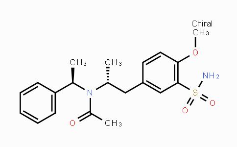 862307-18-4 | N-((R)-1-(4-methoxy-3-sulfamoylphenyl)propan-2-yl)-N-((R)-1-phenylethyl)acetamide